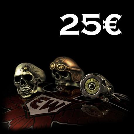 EISENWERK-forever Gift Voucher 25€