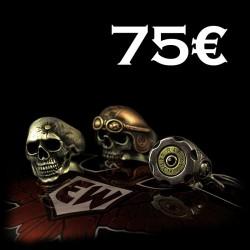 EISENWERK-forever Geschenkgutschein 75€