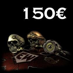 EISENWERK-forever Geschenkgutschein 150€