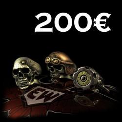 EISENWERK-forever Geschenkgutschein 200€