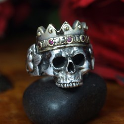 Skull Ring QUEEN