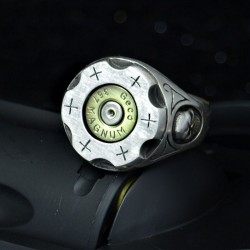 Bullet Ring - 357 Magnum - Six Shooter - Bullet Jewelry