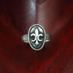 Silver Liliy Ring LILY - Silverring